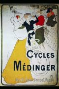 Vintage German cycling poster - cycles medinger